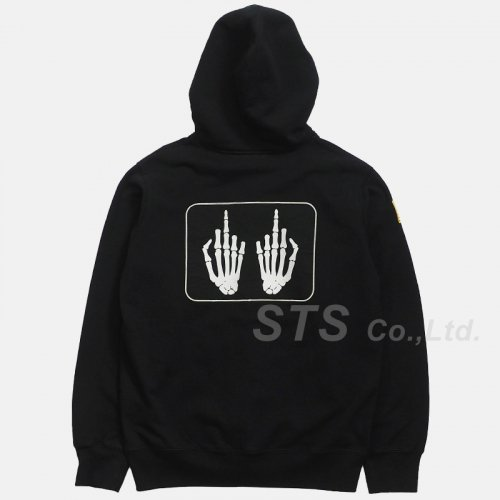 Supreme/HYSTERIC GLAMOUR Patches Zip Up Sweatshirt