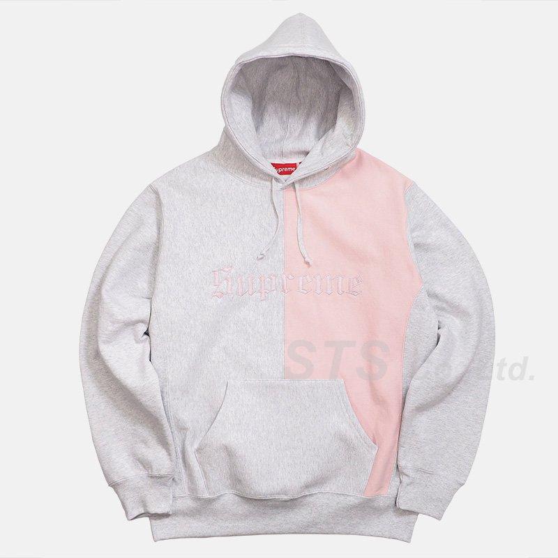 50aabbb23 Supreme - Split Old English Hooded Sweatshirt - ParkSIDER