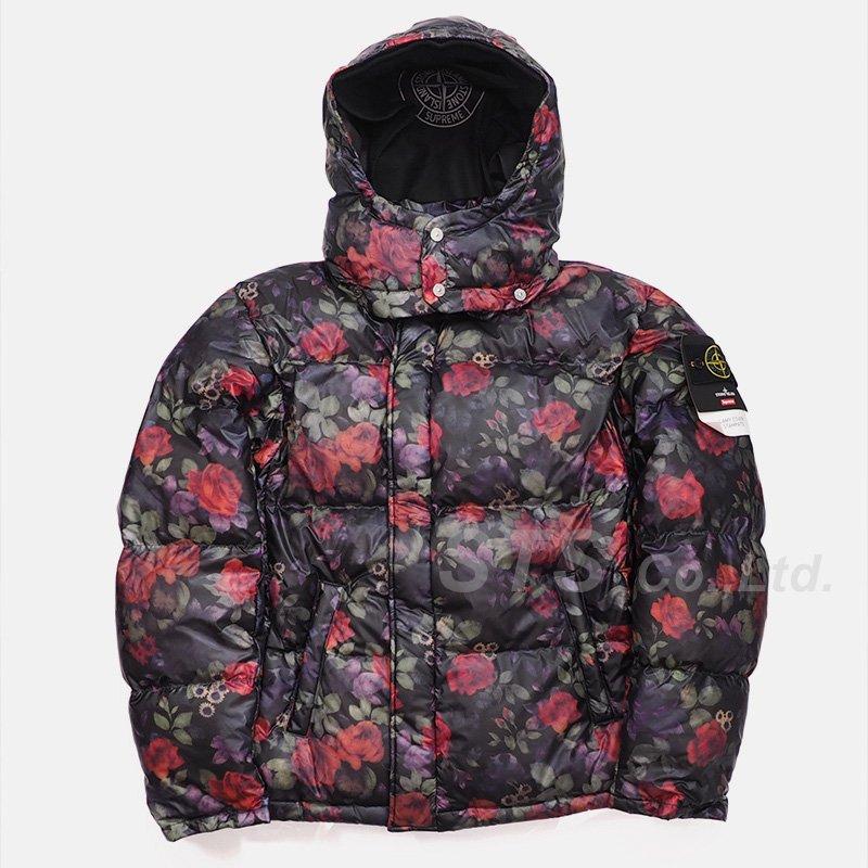 Supreme/Stone Island Lamy Cover Stampato Puffy Jacket