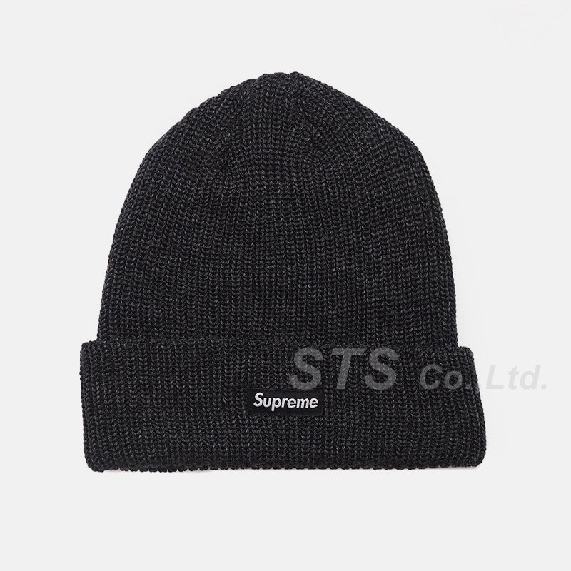 Supreme - Heather Loose Gauge Beanie