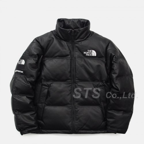 Supreme/The North Face Leather Nuptse Jacket