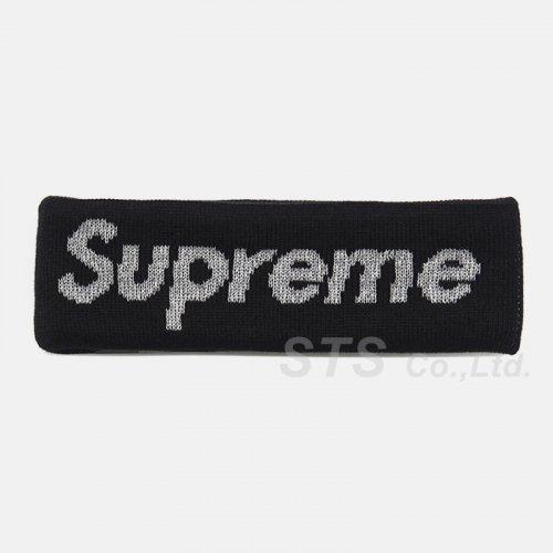 Supreme - New Era Reflective Logo Headband