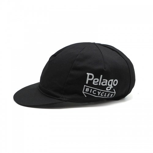 Pelago BICYCLES - Classic Cycling Cap - Black