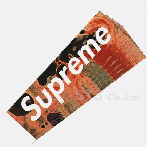 Supreme - Blood and Semen Box Logo Sticker