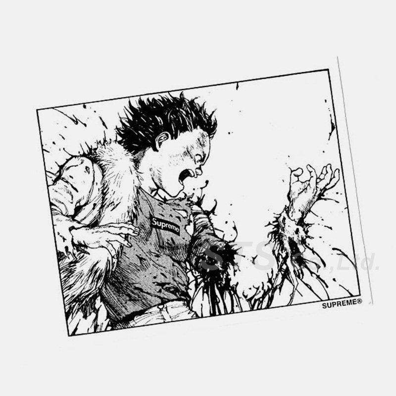 AKIRA/Supreme Arm Sticker