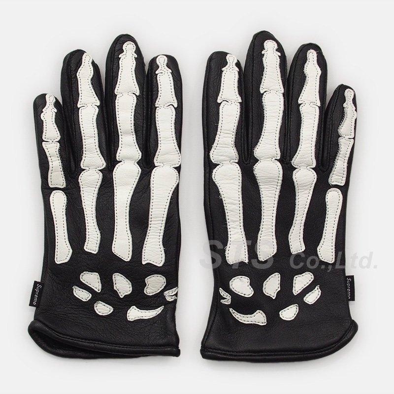 Supreme/Vanson Leather X-Ray Gloves