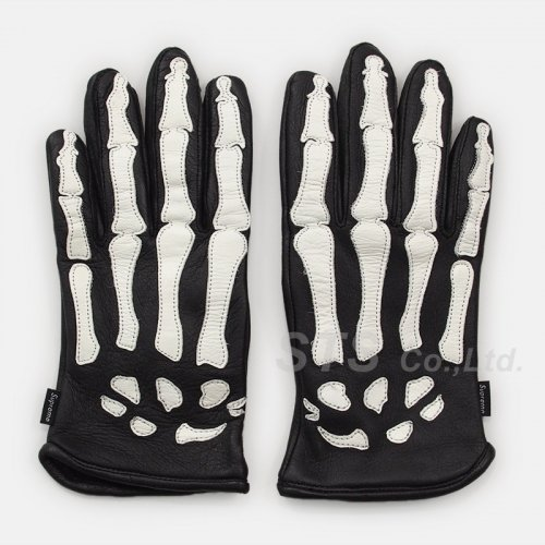 Supreme/Vanson Leather X-Ray Gloves