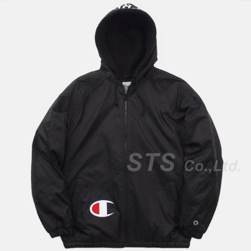 Supreme/Champion Sherpa Lined Hooded Jacket
