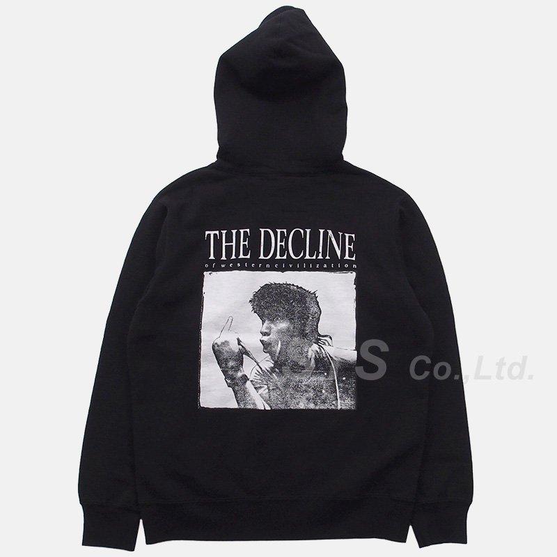Supreme - Decline Hooded Sweatshirt