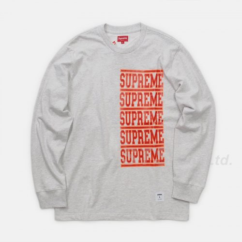 Supreme - Stacked L/S Top