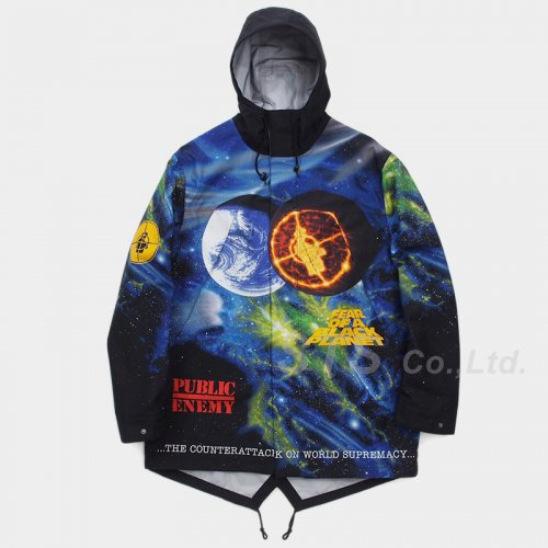 Supreme/UNDERCOVER/Public Enemy Taped Seam Parka