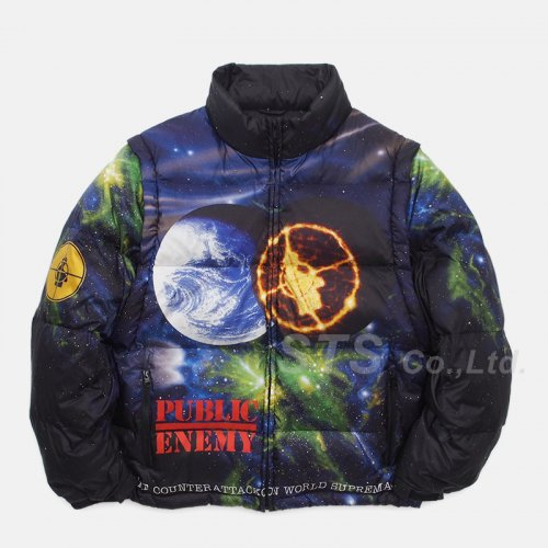 Supreme/UNDERCOVER/Public Enemy Puffy Jacket
