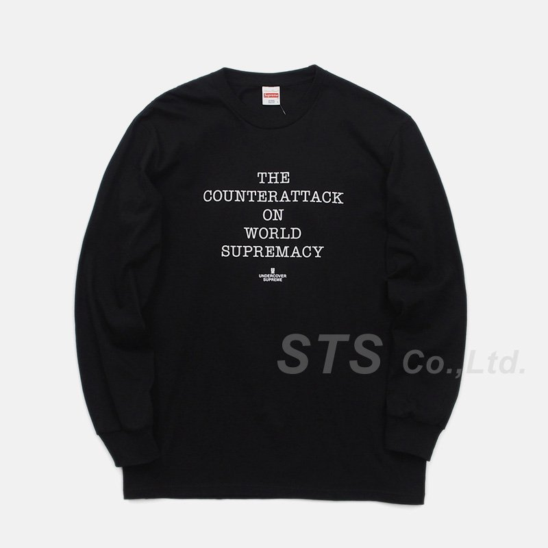 6bced9a914f4 Supreme/UNDERCOVER/Public Enemy Counterattack L/S Tee - ParkSIDER