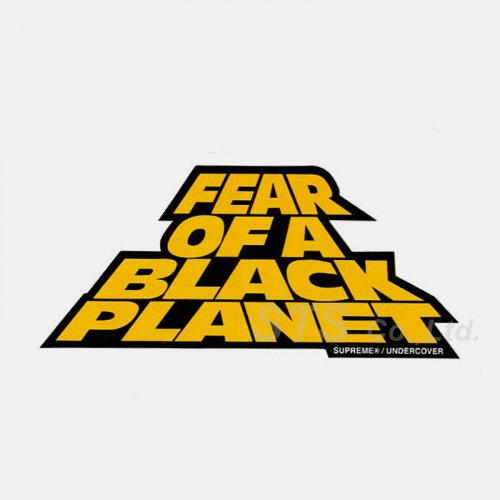 Supreme/Undercover/Public Enemy Fear Of A Black Planet Sticker