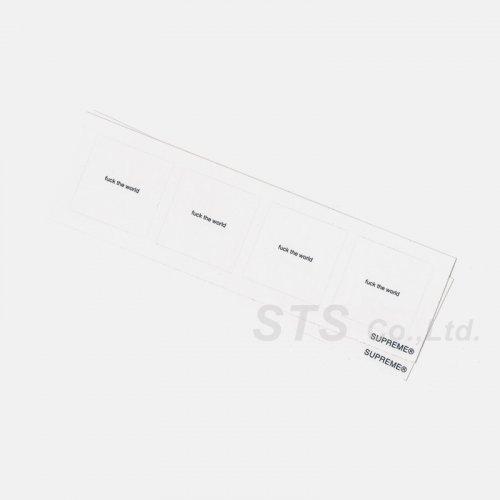 Supreme - FTW Mini Sticker Sheet