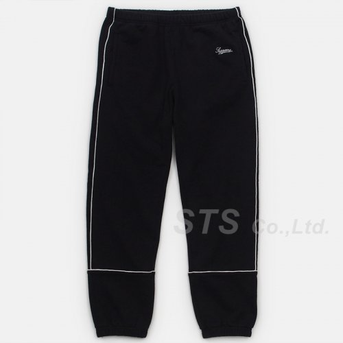 Supreme - Piping Sweatpant