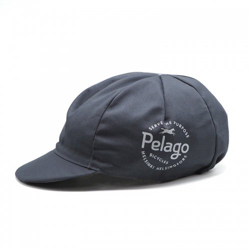 Pelago BICYCLES - Classic Cycling Cap - Grey