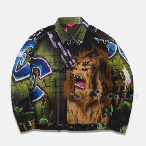 Supreme - Lion's Den Denim Trucker Jacket