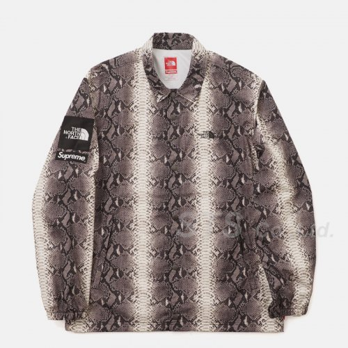 Supreme/The North Face Snakeskin Taped Seam Coaches Jacket