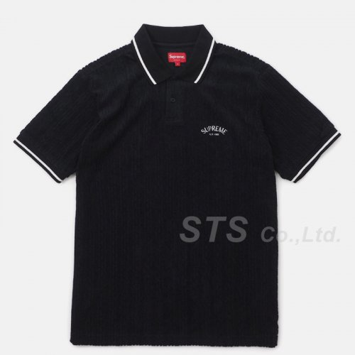 Supreme - Cable Knit Terry Polo
