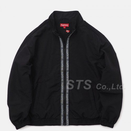 Supreme - Classic Logo Taping Track Jacket