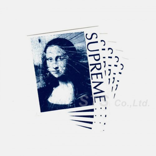 Supreme - Mona Lisa Sticker