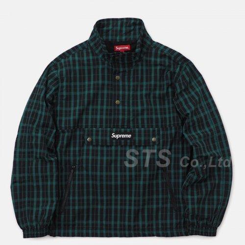Supreme - Nylon Plaid Pullover