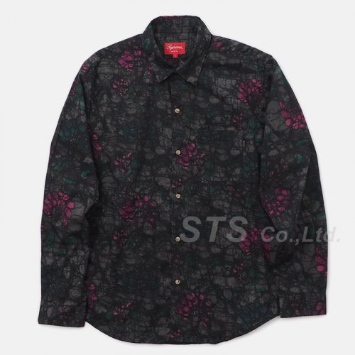 Supreme - Acid Floral Shirt