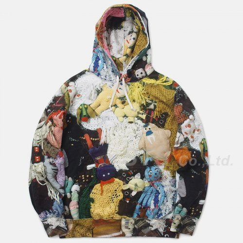 Mike Kelley/Supreme More Love Hours Than Can Ever be Repaid Hooded Sweatshirt
