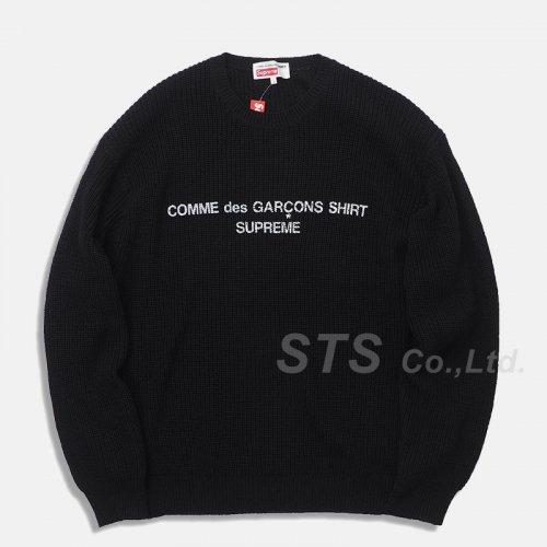 Supreme/Comme des Garcons SHIRT Sweater