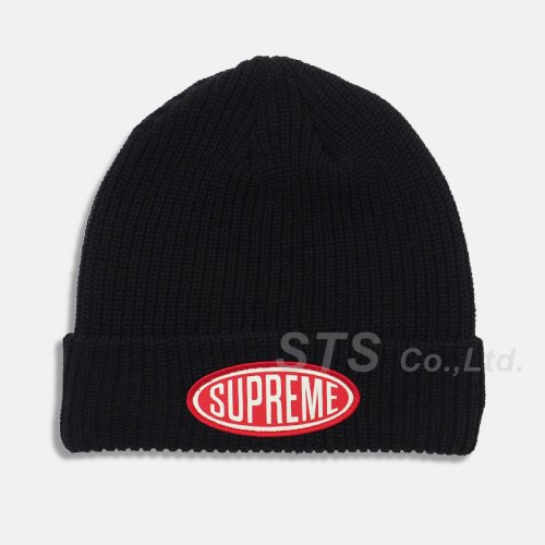 Supreme - Oval Patch Beanie