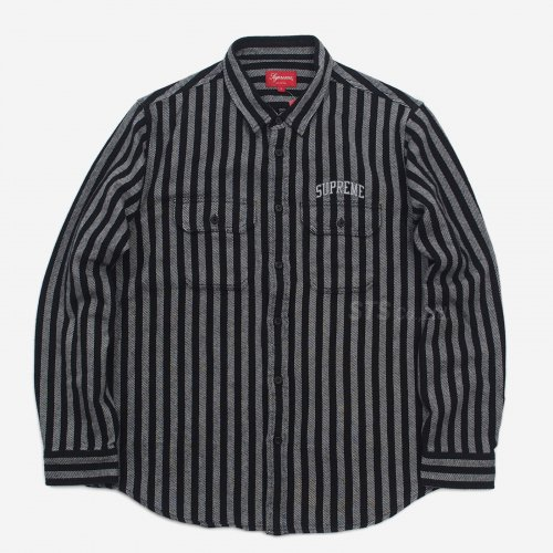 Supreme - Stripe Heavyweight Flannel Shirt