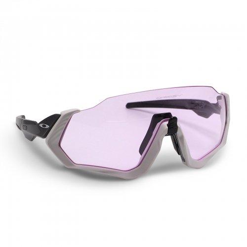 Oakley -  Flight Jacket / Matte Grey Prizm Low Light