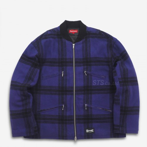 Supreme - Zip Car Jacket