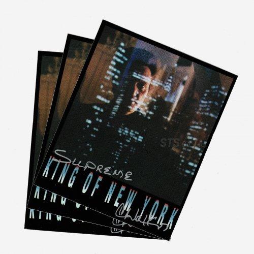 Supreme - Christopher Walken King Of New York Sticker