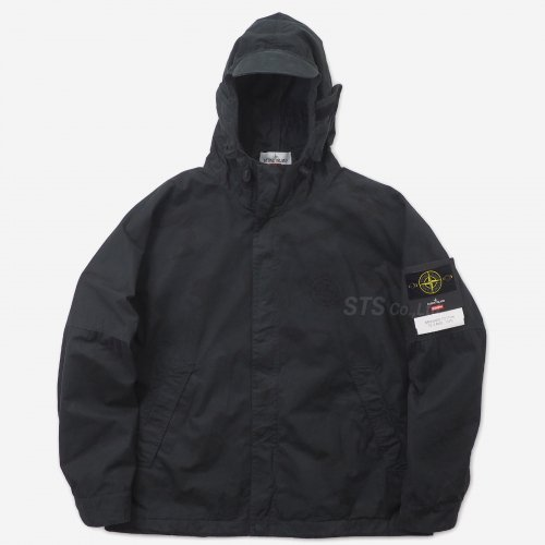 Supreme/Stone Island Riot Mask Camo Jacket
