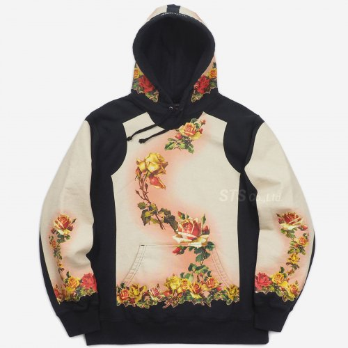 Supreme/Jean Paul Gaultier Floral Print Hooded Sweatshirt