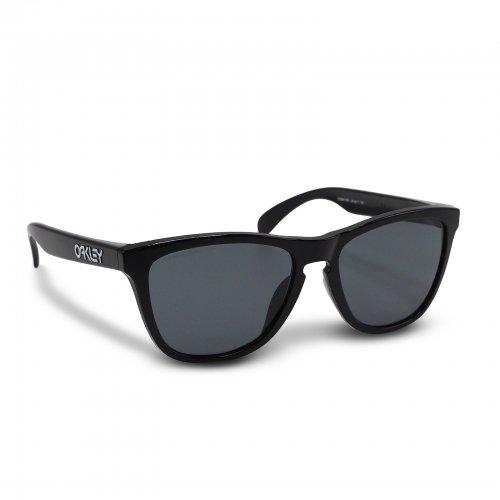 Oakley - Frogskins (A) / Polished Black Prizm Grey