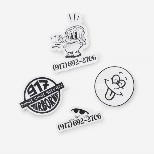 Nine One Seven - Small Sticker Pack