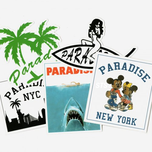 Paradis3 - SS19 Sticker Pack A
