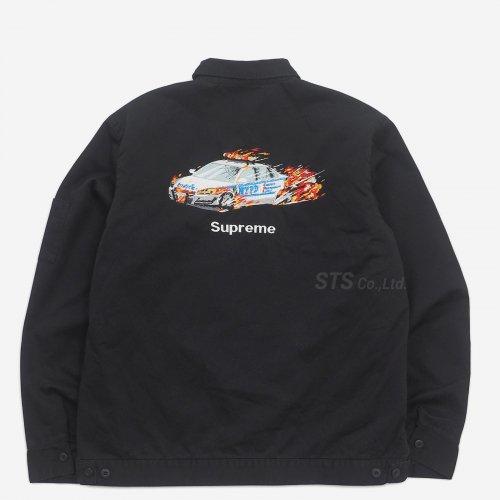 Supreme - Cop Car Embroidered Work Jacket