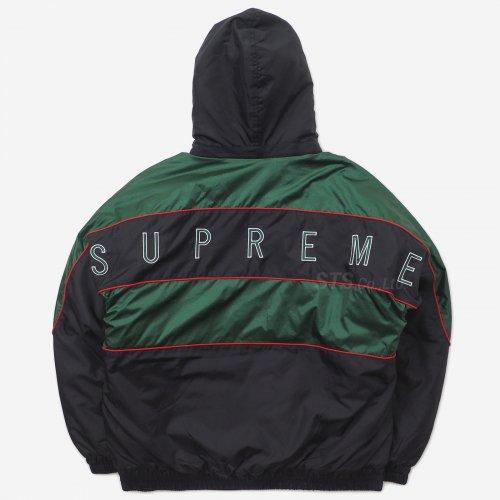 Supreme - Sports Piping Puffy Jacket
