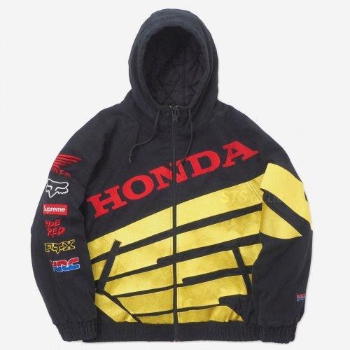 Supreme/Honda/Fox Racing Puffy Zip Up Jacket