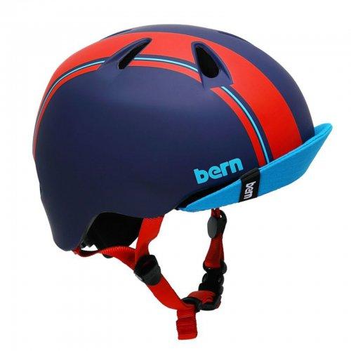 bern - Nino / Blue/Red Racing Stripe