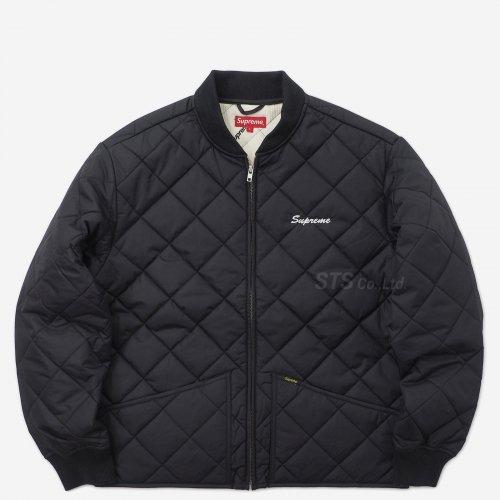 Supreme/dead prez Quilted Work Jacket