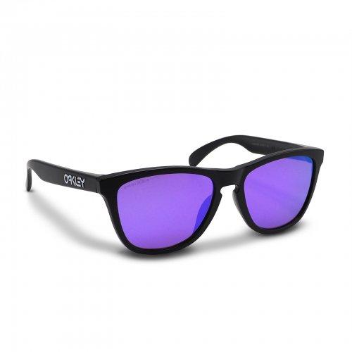 Oakley - Frogskins (A) / Matte Black Prizm Violet