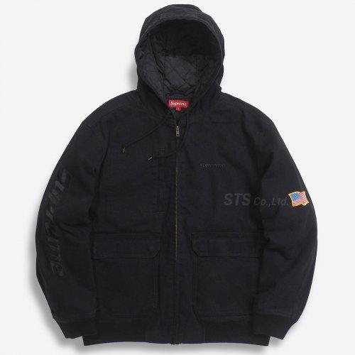 Supreme - Canvas Hooded Work Jacket