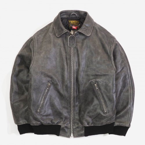 Supreme/Vanson Worn Leather Jacket