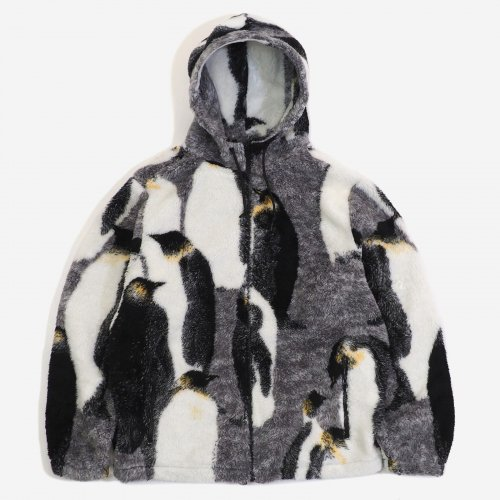 Supreme - Penguins Hooded Fleece Jacket