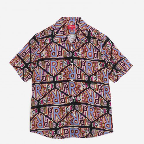 Supreme - Persepective Rayon S/S Shirt